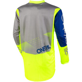 O'Neal Element Jersey Herre gray/blue/neon yellow